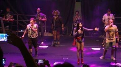 Grupo Balão Mágico fez show de aniversário ontem, em João Pessoa - Apresentação faz parte de uma turnê especial que comemora o aniversário de 36 anos da fundação do grupo.