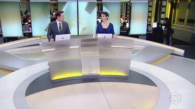Jornal Hoje - Edição de terça-feira, 23/10/2018 - Os destaques do dia no Brasil e no mundo, com apresentação de Sandra Annenberg e Dony De Nuccio