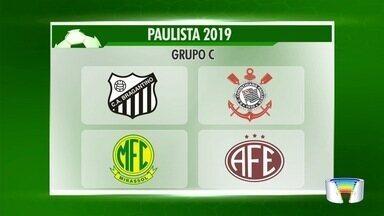 Federação Paulista de Futebol, sorteou os grupos para o Campeonato Paulista de 2019 - O Paulistão, começa em janeiro.