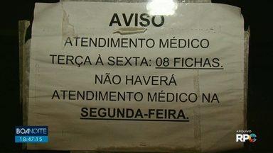 Falta de médicos em Guarapuava prejudica o atendimento à população - A situação poderia ser diferente se um concurso público fosse aberto.