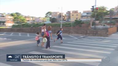 Comissões Regionais de Transporte e Trânsito recebem propostas de moradores em BH - População sugere melhorias no trânsito e transporte da capital.