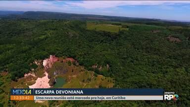 Reunião irá discutir projeto de lei que prevê a redução da Escarpa Devoniana - O debate será hoje à noite (25) em Curitiba, com transmissão para Ponta Grossa.