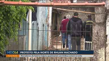 Caso Rhuan: delegado e peritos da Criminalística vão até o Cajuru - undefined