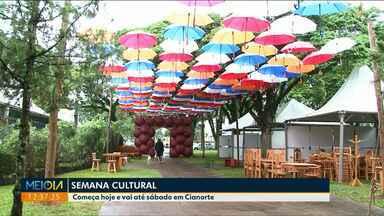 Até sábado tem Semana Cultural em Cianorte - Em Paranavaí, até sábado tem Festival de Teatro.