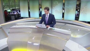 Jornal Hoje - Edição de quinta-feira, 25/10/2018 - Os destaques do dia no Brasil e no mundo, com apresentação de Sandra Annenberg e Dony De Nuccio