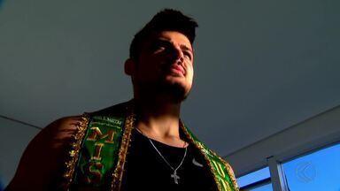Personal trainer juiz-forano detém título de Mister Brasil - Luan Ottoni começou na prática em 2016 e já acumula títulos. Exercícios diários e dieta rigorosa são segredos para corpo ideal