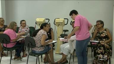 No Outubro Rosa, pacientes com câncer participam de oficinas de artesanato em São Luís - Além de ensinar técnicas, os cursos também mostram novos caminhos a serem percorridos durante o tratamento da doença.