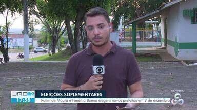 Eleições suplementares: Dois municípios do interior devem eleger novos prefeitos este ano - A eleição está prevista para o dia 9 de dezembro em Rolim de Moura e Pimenta Bueno.