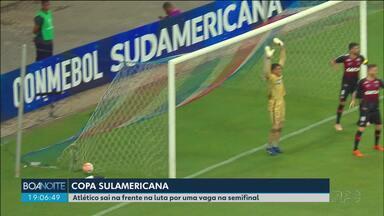 Copa Sulamericana: Atlético vence o Bahia - Furacão sai na frente na briga por uma vaga na semifinal.