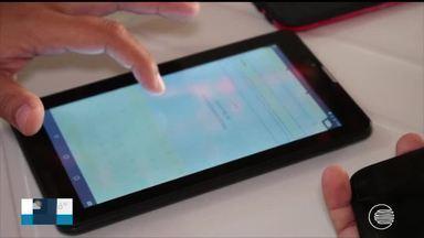 Famílias se cadastram para receber kit digital em Parnaíba, que desligará sinal analógico - Famílias se cadastram para receber kit digital em Parnaíba, que desligará sinal analógico