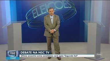 NSC TV realiza debate ao vivo entre candidatos ao governo de SC no 2º turno - NSC TV realiza debate ao vivo entre candidatos ao governo de SC no 2º turno