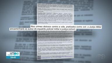 Decisão proíbe Justiça Militar de julgar crimes de PMs contra civis no Tocantins - Decisão proíbe Justiça Militar de julgar crimes de PMs contra civis no Tocantins