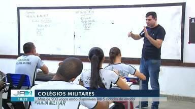 Colégios Militares têm quase mil vagas abertas no Tocantins - Colégios Militares têm quase mil vagas abertas no Tocantins