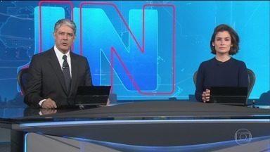 Jornal Nacional, Íntegra 25/10/2018 - As principais notícias do Brasil e do mundo, com apresentação de William Bonner e Renata Vasconcellos.
