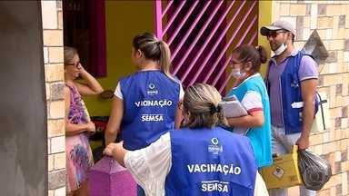 Surto de sarampo no Amazonas e Roraima faz ministério da Saúde intensificar a vacinação - Já são mais de 2mil casos só este ano.