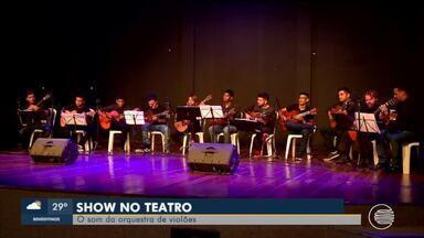 Orquestra de Violões realiza apresentação no Teatro João Paulo II em Teresina - Orquestra de Violões realiza apresentação no Teatro João Paulo II em Teresina