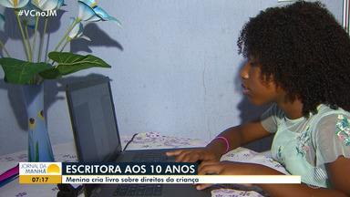 Escritora com apenas 10 anos escreve livro sobre os direitos da criança - Conheça a história de Serena, a escritora mirim.