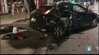 Adolescente suspeito de causar acidente em que mulher morreu se apresenta à polícia, na PB - Acidente aconteceu na madrugada da segunda-feira (21), em avenida da capital.