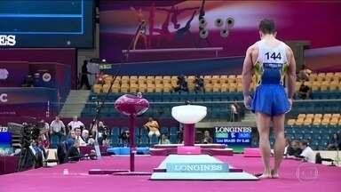 Equipe masculina do Brasil chega a final do mundial de ginástica em Doha - Equipe masculina do Brasil chega a final do mundial de ginástica em Doha.