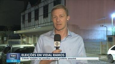 Vidal Ramos tem eleições suplementares para prefeito neste domingo - Vidal Ramos tem eleições suplementares para prefeito neste domingo