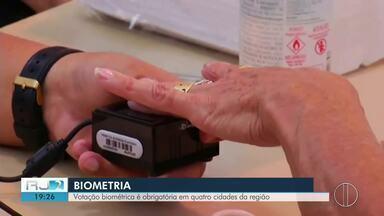 Votação biométrica é obrigatória em quatro cidades do Interior do Rio - Assista a seguir.