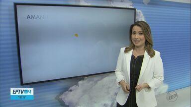 Confira a previsão do tempo na região - Veja como ficará o tempo nos próximos dias.