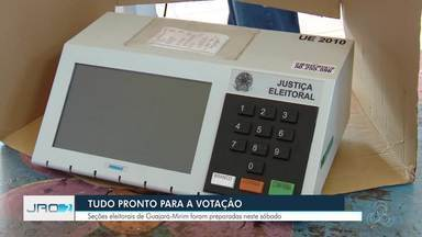 Guajará-Mirim conta com 164 seções de votação neste domingo (28) - Locais começaram a ser preparados neste sábado (27) na região.