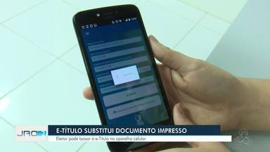 Aplicativo de celular da Justiça Eleitoral substitui documentos na hora da votação - Medida virtual é chamada de E-Título.