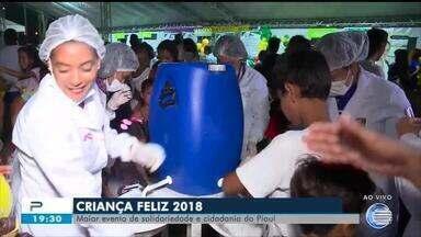 Criança Feliz 2018: maior evento de solidariedade e cidadania do Piauí - Criança Feliz 2018: maior evento de solidariedade e cidadania do Piauí