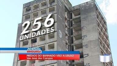 Dois prédios abandonados em São José vão para leilão - O lance mínimo é de R$8 milhões.