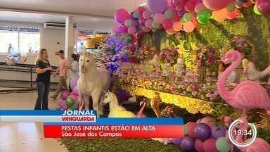 Feira em São José reúne as principais tendências em festas infantis - A feira é gratuita e vai até domingo (28).