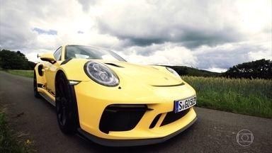 Conheça o Porsche 911 GT3 RS, um dos esportivos mais rápidos do mundo - Veja um dos modelos de produção mais rápidos do mundo.