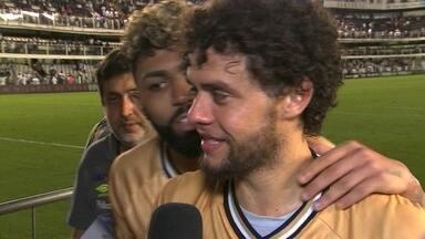 Santos demora a abrir o placar, mas bate os reservas do Fluminense por 3 a 0 - Santos demora a abrir o placar, mas bate os reservas do Fluminense por 3 a 0