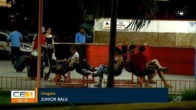 Eleitores viajam para ir às urnas - Saiba mais em g1.com.br/ce