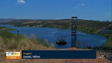 Açude dos Carneiros tem menos de 5% da capacidade, em Juazeiro do Norte - Saiba mais em g1.com.br/ce