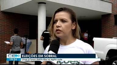 Urnas já foram distribuídas na região norte do Ceará - Saiba mais em g1.com.br/ce