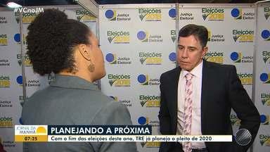 Após término das eleições, TRE planeja pleito de 2020 - A sede do TRE na Bahia, teve movimento intenso no domingo (28).
