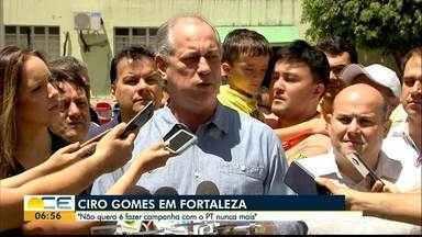 Ciro Gomes vota em Fortaleza - Terceiro colocado no primeiro turno, Ciro disse que irá fazer oposição à Bolsonaro