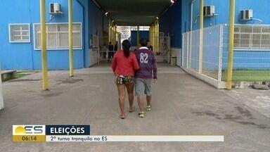 Balanço do TRE informa que 40 urnas foram substituídas no Espírito Santo - Urnas não causaram prejuízo aos eleitores e dia de votação foi tranquilo no estado.