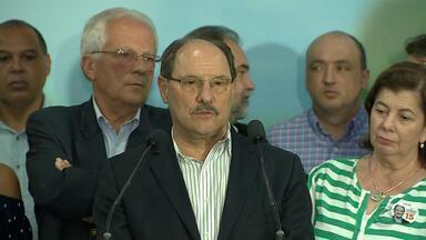 Acompanhe como foi o domingo (28) de eleição do atual governador José Ivo Sartori - Sartori estará à frente do governo do estado gaúcho até o final de 2018.