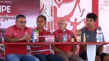 Luizinho Vieira é apresentado como novo treinador do Sergipe - Clube inicia montagem do elenco para a próxima temporada.