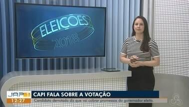 Capi atribui derrota de eleição no Amapá a decisão judicial - Candidato destacou que, com a vitória de Waldez (PDT), segue na oposição