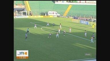 Criciúma perde para o Figueirense e liga sinal de alerta na Série B - Criciúma perde para o Figueirense e liga sinal de alerta na Série B