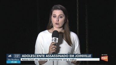 Adolescente de 14 anos é morto a tiros em Joinville - Adolescente de 14 anos é morto a tiros em Joinville
