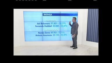 Confira os números da eleição no segundo turno - Romeu Zema foi eleito governador e Jair Bolsonaro presidente.