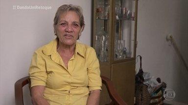 'Dando Um Retoque': conheça a Dona Nadir - O filho dela escreveu para o 'Mais Você' pedindo a reforma da sala da mãe
