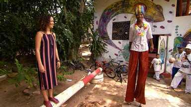 Projeto Escologia promove atividades de arte circense no Parque de Pituaçu - Projeto Escologia promove atividades de arte circense no Parque de Pituaçu