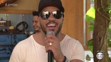Belo canta 'Derê' - Confira a apresentação do cantor na manhã deste sábado