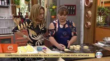 Confeiteira ensina a fazer pão doce conhecido como fatia húngara - Eloísa Ohomoto dá a dica do pão que é uma ótima pedida para o café da manhã