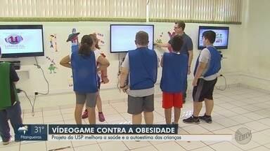 Projeto da USP utiliza videogame para estimular crianças a praticar exercício em Ribeirão - Interessados podem se inscrever pelo telefone (16) 3315-0336.